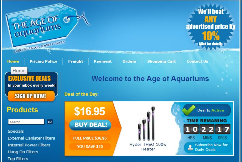Age of Aquariums