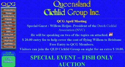 QCG - Queensland Cichlid Group